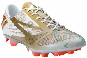 Warrior Superheat 2014 White Gold Boot (2)