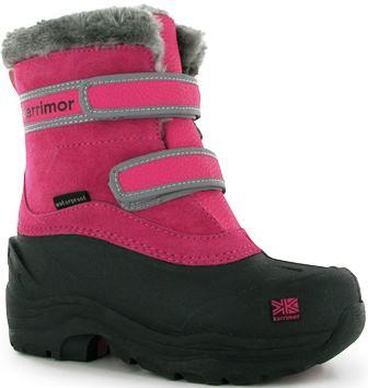 Мембранная зимняя обувь для детей 26