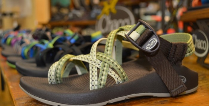 Правильные туристические сандалии