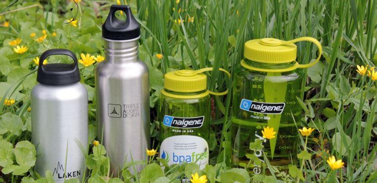 Походные бутылки для воды — какие они?